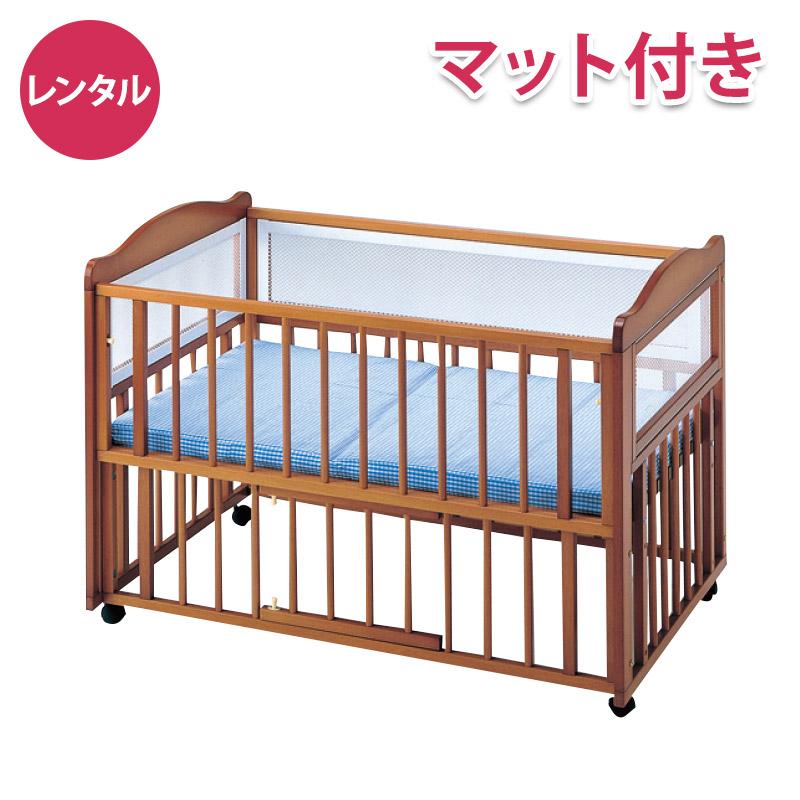 そい寝ベッド型 ハート&ハート マット付
