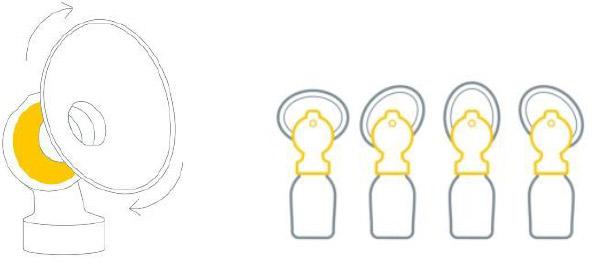 パーソナルフィット プラス さく乳口の特長